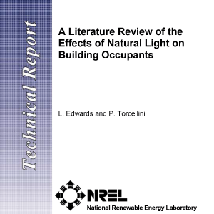 A literature review of the effects of Natural light on building occupants