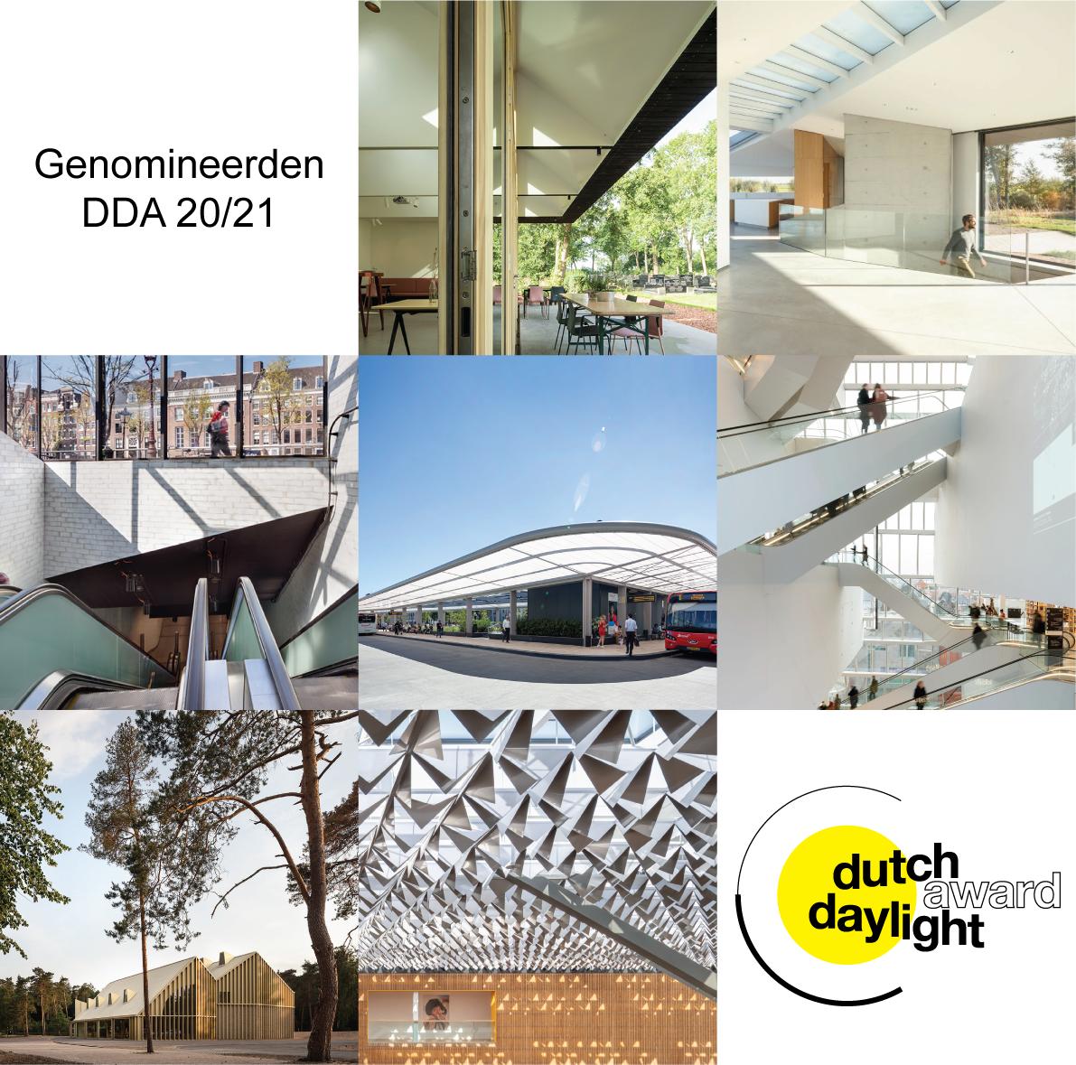 Dutch Daylight Award - Nominaties 20/21